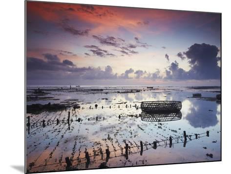 NUSA Lembongan at Dawn, Bali, Indonesia-Ian Trower-Mounted Photographic Print