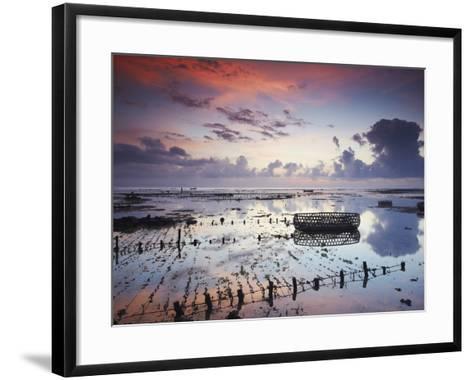 NUSA Lembongan at Dawn, Bali, Indonesia-Ian Trower-Framed Art Print