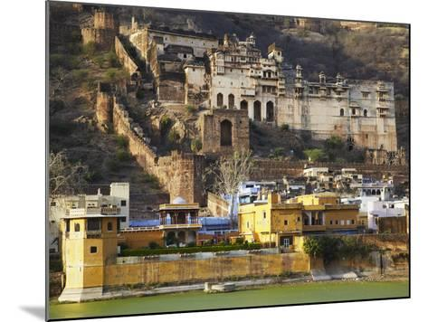 Bundi Palace, Bundi, Rajasthan, India-Ian Trower-Mounted Photographic Print