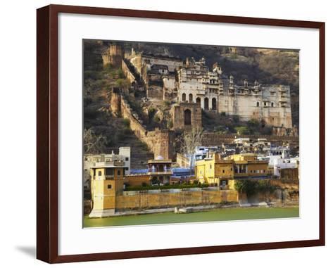 Bundi Palace, Bundi, Rajasthan, India-Ian Trower-Framed Art Print