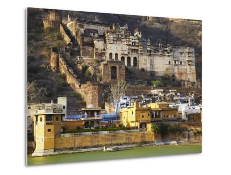 Bundi Palace, Bundi, Rajasthan, India-Ian Trower-Metal Print