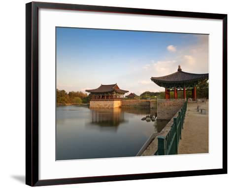 Korea, Gyeongsangbuk-Do, Gyeongju, Anapji Pond-Jane Sweeney-Framed Art Print