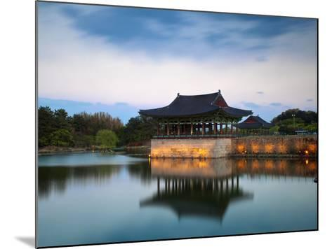 Korea, Gyeongsangbuk-Do, Gyeongju, Anapji Pond-Jane Sweeney-Mounted Photographic Print