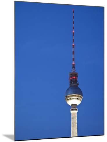 Fernsehturm (Tv Tower), Berlin, Germany-Jon Arnold-Mounted Photographic Print