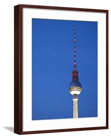Fernsehturm (Tv Tower), Berlin, Germany-Jon Arnold-Framed Art Print