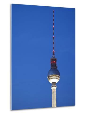 Fernsehturm (Tv Tower), Berlin, Germany-Jon Arnold-Metal Print