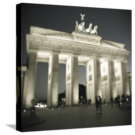 Brandenburg Gate, Pariser Platz, Berlin, Germany-Jon Arnold-Stretched Canvas Print