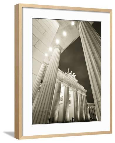 Brandenburg Gate, Berlin, Germany-Jon Arnold-Framed Art Print