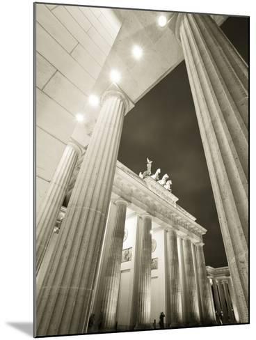Brandenburg Gate, Berlin, Germany-Jon Arnold-Mounted Photographic Print