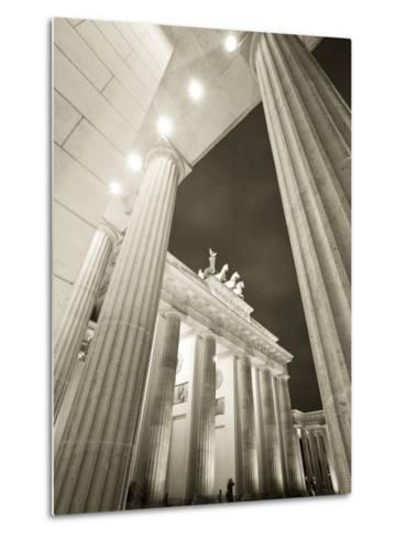 Brandenburg Gate, Berlin, Germany-Jon Arnold-Metal Print