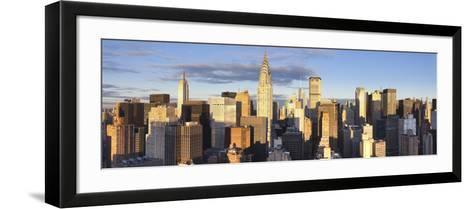 Midtown Skyline with Chrysler Building and Empire State Building, Manhattan, New York City, USA-Jon Arnold-Framed Art Print