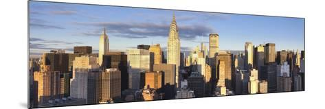 Midtown Skyline with Chrysler Building and Empire State Building, Manhattan, New York City, USA-Jon Arnold-Mounted Photographic Print