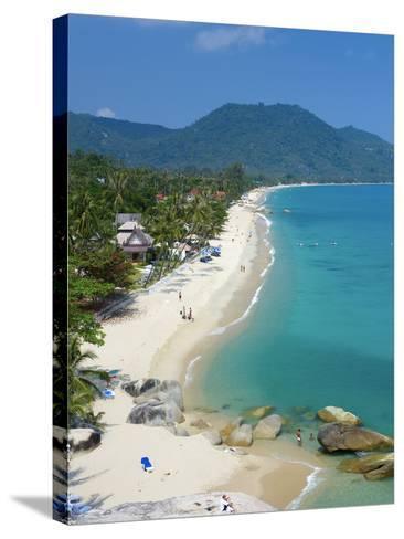 Lamai Beach, Ko Samui Island, Thailand-Katja Kreder-Stretched Canvas Print