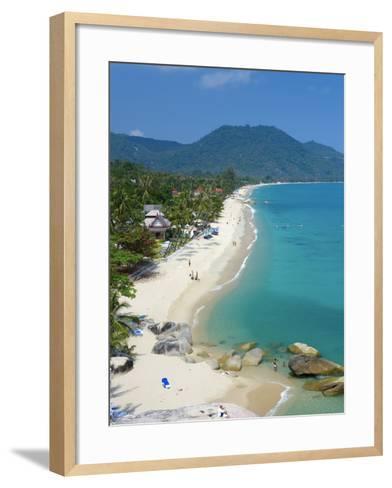 Lamai Beach, Ko Samui Island, Thailand-Katja Kreder-Framed Art Print