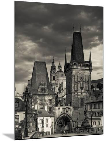 Czech Republic, Prague, Stare Mesto (Old Town), Little Quarter (Mala Strana) and Charles Bridge-Michele Falzone-Mounted Photographic Print