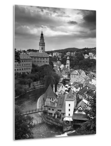 Czech Republic, South Bohemia, Cesky Krumlov-Michele Falzone-Metal Print
