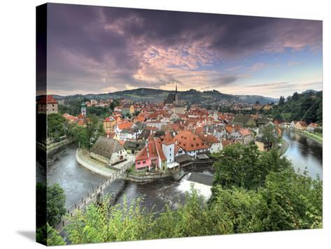 Czech Republic, South Bohemia, Cesky Krumlov-Michele Falzone-Stretched Canvas Print