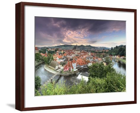 Czech Republic, South Bohemia, Cesky Krumlov-Michele Falzone-Framed Art Print