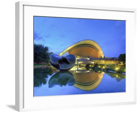 Germany, Berlin, Tiergarten, House of World Cultures Pavillion (Haus Der Kulturen Der Welt) also Ca-Michele Falzone-Framed Art Print