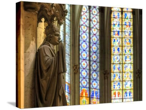 Germany, North Rhine Westphalia, Cologne (Koln), Cathedral Interior-Michele Falzone-Stretched Canvas Print