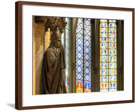 Germany, North Rhine Westphalia, Cologne (Koln), Cathedral Interior-Michele Falzone-Framed Art Print