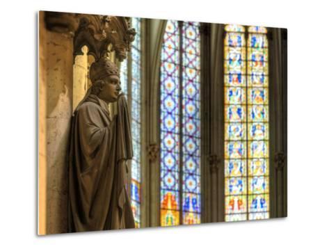 Germany, North Rhine Westphalia, Cologne (Koln), Cathedral Interior-Michele Falzone-Metal Print