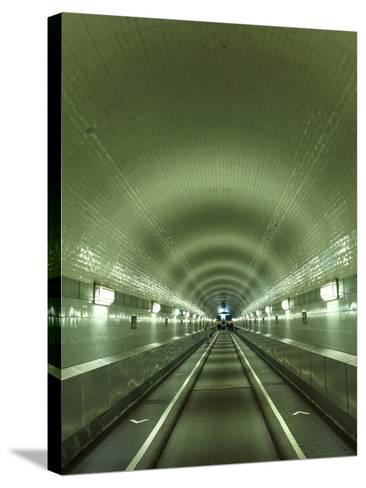 Germany, Hamburg, Landungsbrucken, St. Pauli Elbtunnel (Historic Pedestrian Tunnel under Elbe River-Michele Falzone-Stretched Canvas Print