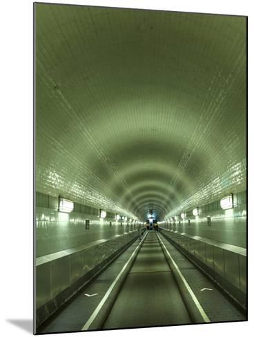 Germany, Hamburg, Landungsbrucken, St. Pauli Elbtunnel (Historic Pedestrian Tunnel under Elbe River-Michele Falzone-Mounted Photographic Print
