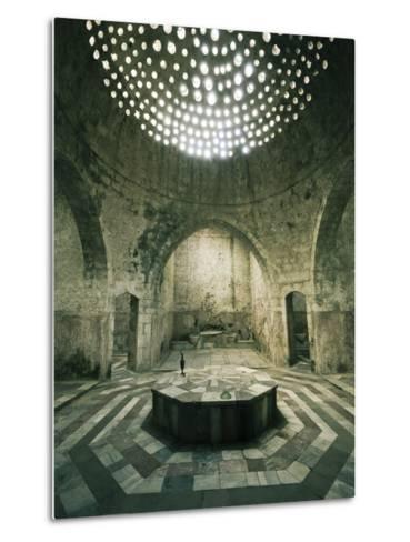 Lebanon, Tripoli, Old Town, El Jadid Hamam (Bath)-Michele Falzone-Metal Print