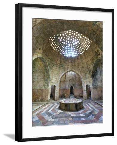 Lebanon, Tripoli, Old Town, El Jadid Hamam (Bath)-Michele Falzone-Framed Art Print