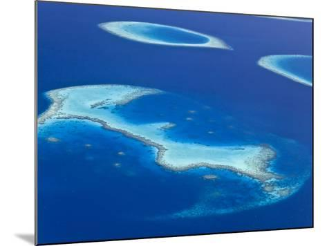 Maldives, Aerial View of Islands and Atolls-Michele Falzone-Mounted Photographic Print