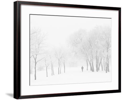 Winter, Saint Petersburg, Russia-Nadia Isakova-Framed Art Print