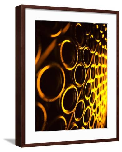 France, Marne, Champagne Region, Epernay, Moet and Chandon Champagne Winery, Champagne Cellars-Walter Bibikow-Framed Art Print