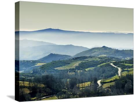 Mountains in the MiSt. Alturas Do Barroso, Tras-Os-Montes, Portugal-Mauricio Abreu-Stretched Canvas Print