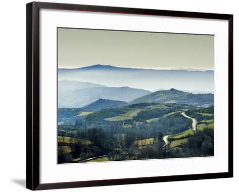 Mountains in the MiSt. Alturas Do Barroso, Tras-Os-Montes, Portugal-Mauricio Abreu-Framed Art Print