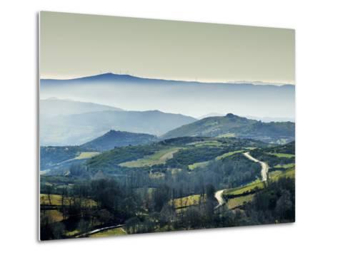 Mountains in the MiSt. Alturas Do Barroso, Tras-Os-Montes, Portugal-Mauricio Abreu-Metal Print