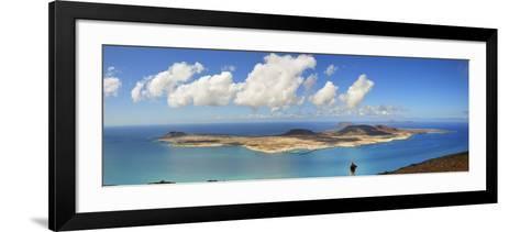 Graciosa Island Seen from the Mirador Del Rio, Lanzarote, Canary Islands-Mauricio Abreu-Framed Art Print