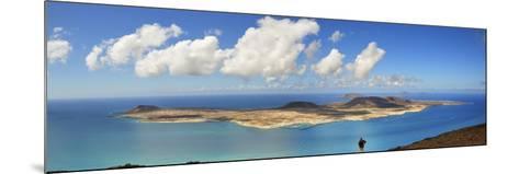Graciosa Island Seen from the Mirador Del Rio, Lanzarote, Canary Islands-Mauricio Abreu-Mounted Photographic Print
