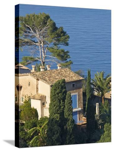 Lluc Alcari, Luc Alcari, Serra De Tramuntana, Majorca, Balearics, Spain-Katja Kreder-Stretched Canvas Print