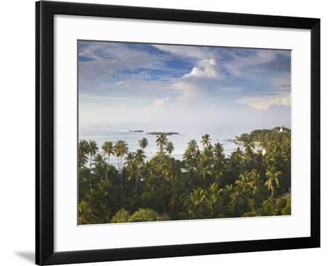 Unawatuna at Dawn, Southern Province, Sri Lanka-Ian Trower-Framed Art Print