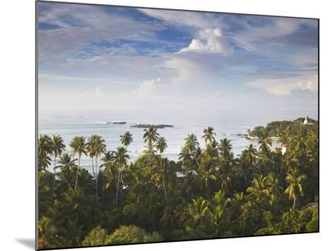 Unawatuna at Dawn, Southern Province, Sri Lanka-Ian Trower-Mounted Photographic Print