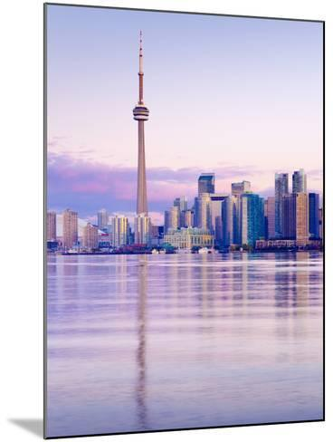 Canada, Ontario, Toronto, Cn Tower and Downtown Skyline-Alan Copson-Mounted Photographic Print