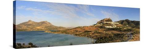 Spain, Andalucia, Zahara De La Sierra Village-Michele Falzone-Stretched Canvas Print