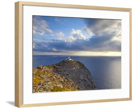Lighthouse at Cap De Formentor, Mallorca, Balearic Islands, Spain-Doug Pearson-Framed Art Print