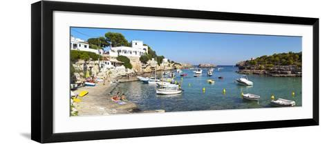 Cala D'Alcaufar, Menorca, Balearic Islands, Spain-Doug Pearson-Framed Art Print