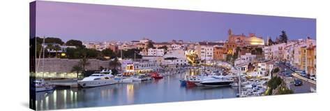 Harbour and Waterfront of Ciutadella, Menorca, Balearic Islands, Spain-Doug Pearson-Stretched Canvas Print