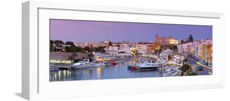 Harbour and Waterfront of Ciutadella, Menorca, Balearic Islands, Spain-Doug Pearson-Framed Art Print