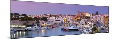 Harbour and Waterfront of Ciutadella, Menorca, Balearic Islands, Spain-Doug Pearson-Mounted Photographic Print