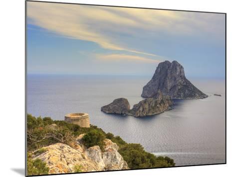 Spain, Balearic Islands, Ibiza, Es Vedra Rocky Island-Michele Falzone-Mounted Photographic Print