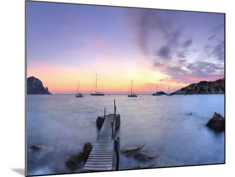 Spain, Balearic Islands, Ibiza, Cala D'Hort Beach and Es Vedra Island-Michele Falzone-Mounted Photographic Print